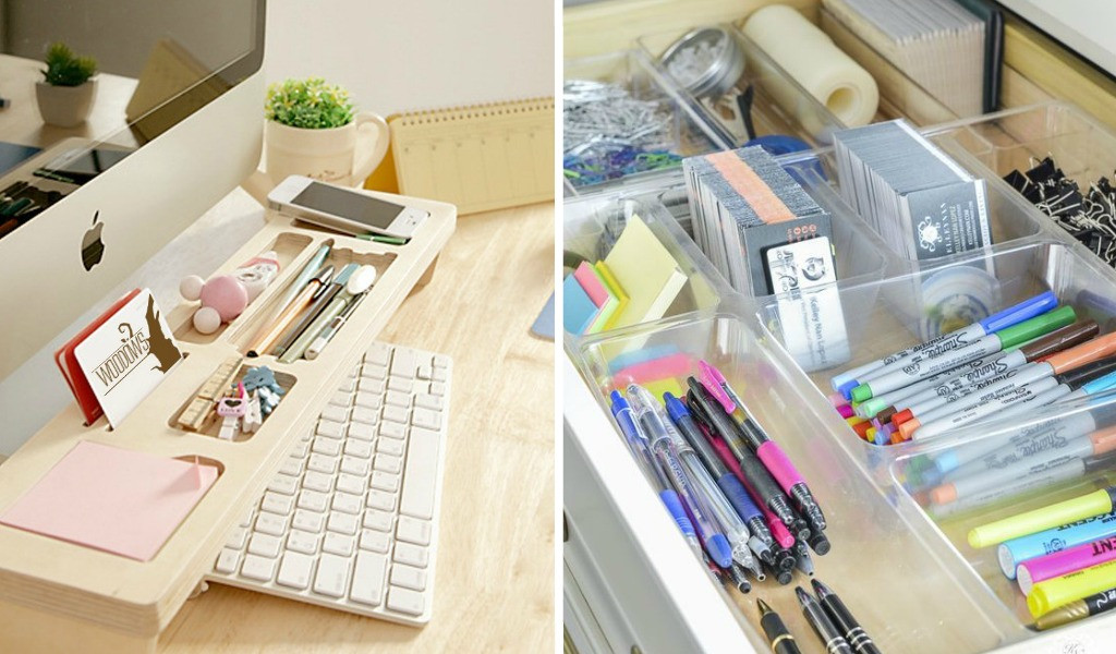 Office Desk Organization Ideas  13 Ridiculously Smart Home fice Desk Organization Ideas