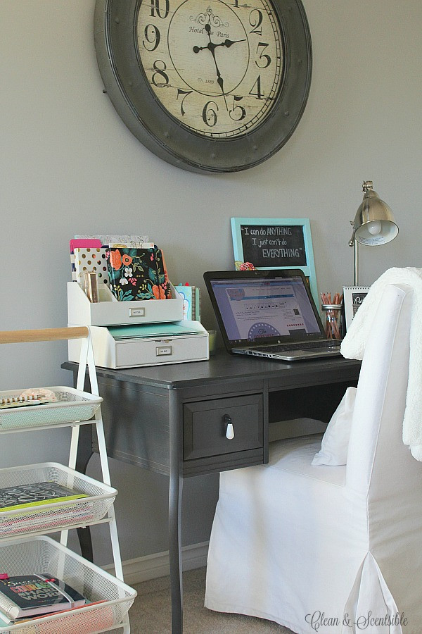 Office Desk Organization Ideas  Small Desk Organization Ideas Clean and Scentsible