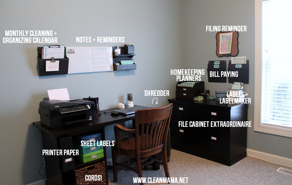 Office Organization Systems  Simple Solutions to Eliminate Paper Clutter Clean Mama