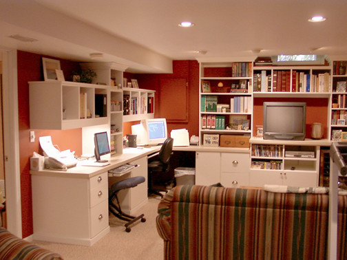 Office Organization Systems  Closet Organizing Systems Traditional Home fice