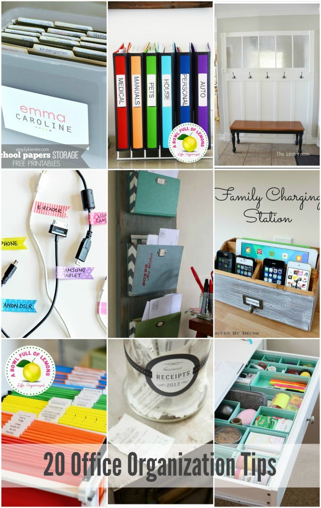 Office organization Tips Best Of Home organization Printables the Idea Room
