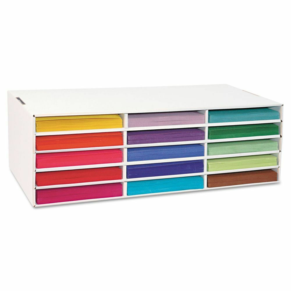 Organizer Paper Best Of Classroom Keepers Construction Paper Storage organizer
