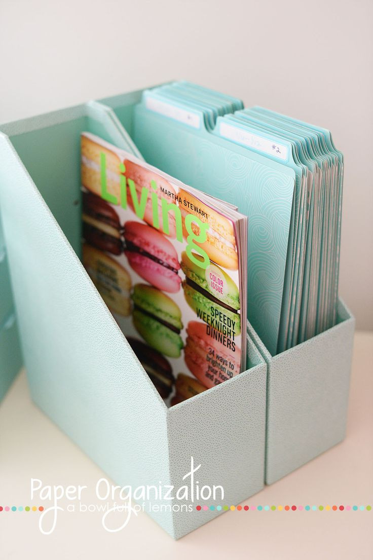 Paper File Organization  1000 ideas about Organize Mail on Pinterest