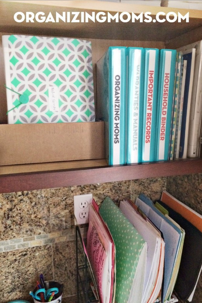 Paper File Organization  Organizing With Binders Organizing Moms