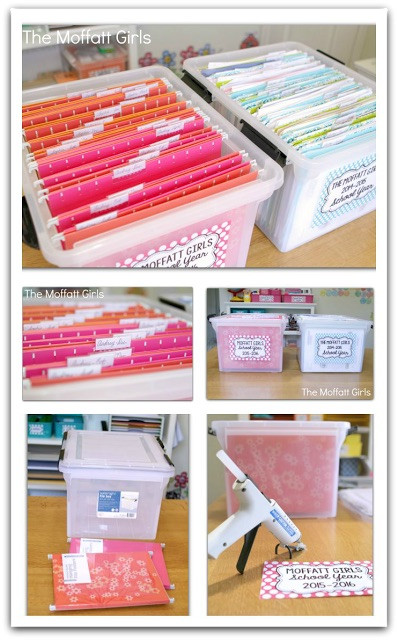 Paper File Organization  Clear the Paper Clutter Monthly Organization