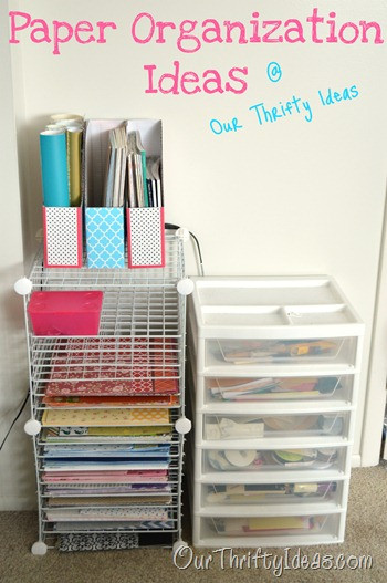 Paper organization Ideas Lovely 1 1 2 Hours Was so Worth It Our Thrifty Ideas
