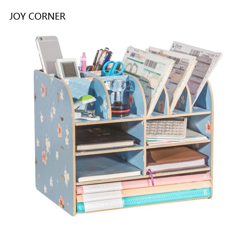 Paper Organizer For Desk  Paper Storage Trays Desk Organizer Tray Desktop Magazine