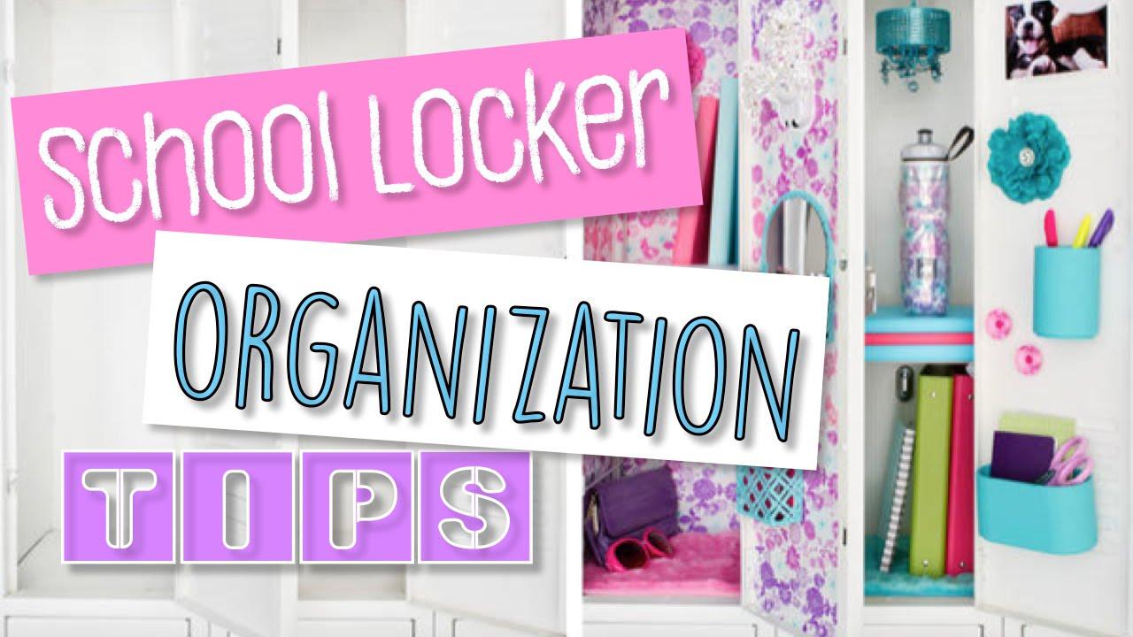 School Organization Tips  Locker Organization School Tips