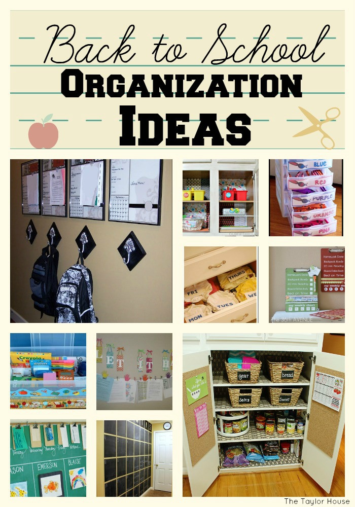 School Organization Tips  Get Organized for Back To School Time Page 2 of 2