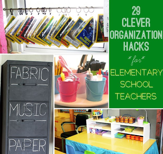 School Organization Tips  The Best of Classroom Tips Hacks and Resources