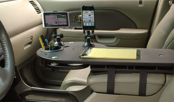 Truck Office organizer Beautiful Mobile Desk and Car organizer for Electronics
